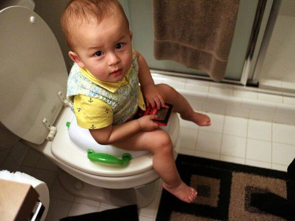 Constipation in infants with mixed feeding
